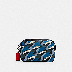 COACH 1976 - GRAHAM CROSSBODY WITH DECO BRIDGE PRINT QB/BLUE JAY