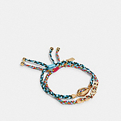 COACH 1982 - SHELL BRACELET SET MULTICOLOR