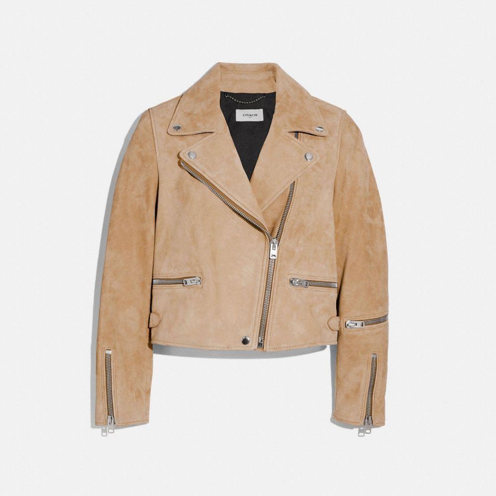 麂皮騎士夾克