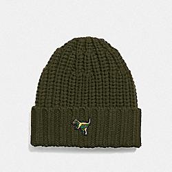 COACH 21104 Rexy Knit Beanie OLIVE