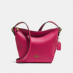 COACH 21377 - SMALL DUFFLETTE GOLD/BRIGHT CHERRY