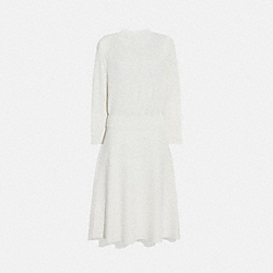 COACH 2174 Open Knit Dress CREAM