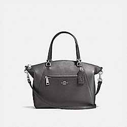 COACH 22788 - PRAIRIE SATCHEL SILVER/METALLIC GRAPHITE