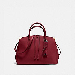 COACH 22821 - COOPER CARRYALL BORDEAUX/BLACK COPPER