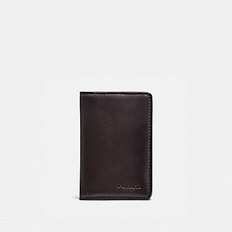 COACH 22840 CARD WALLET CHESTNUT