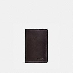 COACH 22840 - CARD WALLET CHESTNUT