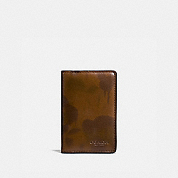 CARD WALLET WITH WILD BEAST PRINT - SURPLUS - COACH 22844