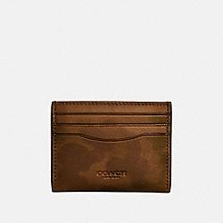 COACH 22847 - CARD CASE WITH WILD BEAST PRINT SURPLUS