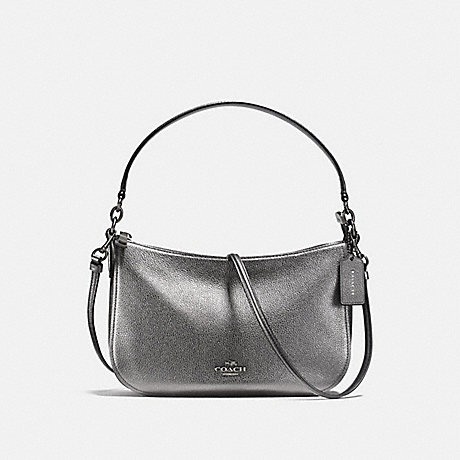 COACH 22859 CHELSEA CROSSBODY DARK-GUNMETAL/METALLIC-GRAPHITE