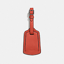 LUGGAGE TAG - 22876 - VERMILLION