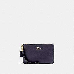 COACH 22952 Small Wristlet GD/INK