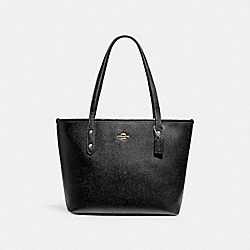 MINI CITY ZIP TOTE - 22967 - IM/BLACK