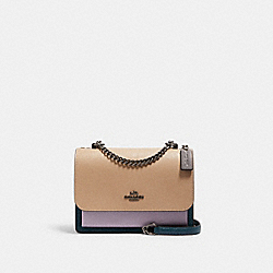 KLARE CROSSBODY IN COLORBLOCK - 2308 - QB/PEACOCK MULTI