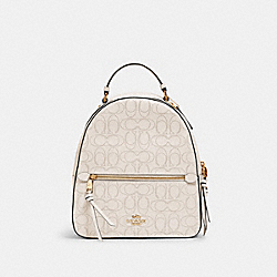 COACH 2322 - JORDYN BACKPACK IN SIGNATURE LEATHER IM/CHALK