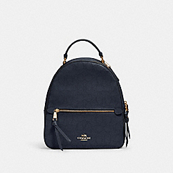 JORDYN BACKPACK IN SIGNATURE LEATHER - 2322 - IM/MIDNIGHT