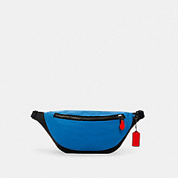 COACH 2323 - WARREN BELT BAG QB/BLUE JAY MIAMI RED