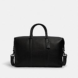 TREKKER BAG WITH SIGNATURE CANVAS STRAP - 2336 - QB/BLACK BLUE JAY