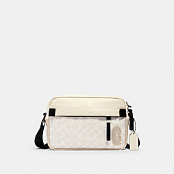 COACH 2338 - EDGE CROSSBODY IN SIGNATURE CANVAS QB/CHALK STEAM