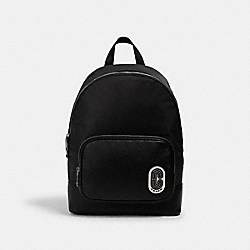 COURT BACKPACK WITH COACH PATCH - 2348 - SV/BLACK