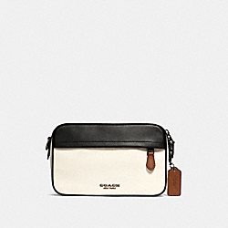 GRAHAM CROSSBODY IN COLORBLOCK - 234 - QB/CHALK/BLACK