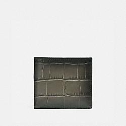 COACH 23835 - DOUBLE BILLFOLD WALLET FOG