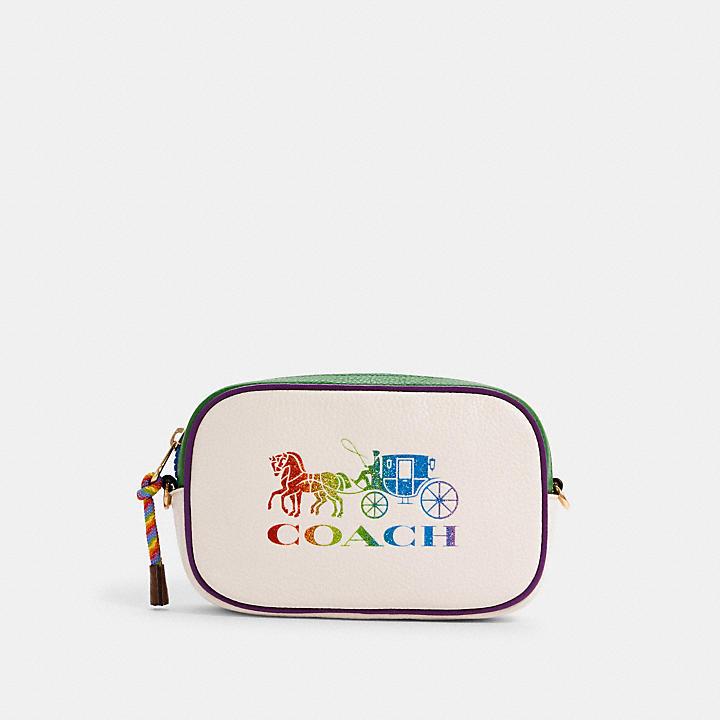 コーチ公式アウトレット | *ジェス コンバーチブル ベルト バッグ ウィズ レインボー ホース アンド キャリッジ | ミニバッグ/ボディバッグ/ベルトバッグ