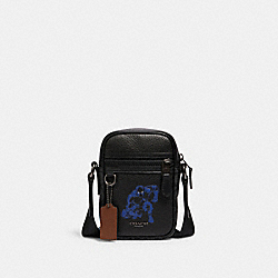 COACH 2428 Coach │ Marvel Terrain Crossbody With Signature Canvas Detail And Black Panther QB/BLACK MULTI
