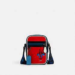 COACH 2431 Coach │ Marvel Terrain Crossbody With Spider-man SV/MIAMI RED