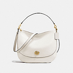 COACH 24771 - TURNLOCK HOBO GD/CHALK