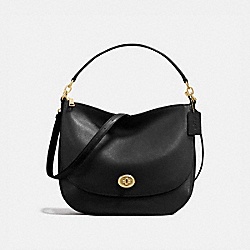 COACH 24771 - TURNLOCK HOBO LI/BLACK