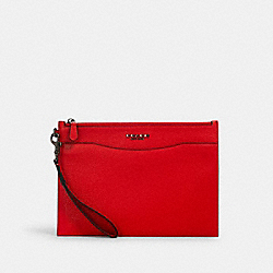 COACH 2512 - BECKETT SLIM POUCH QB/MIAMI RED