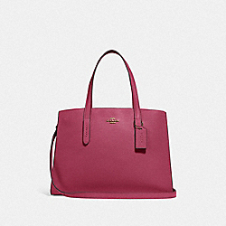 COACH 25137 Charlie Carryall GOLD/DUSTY PINK