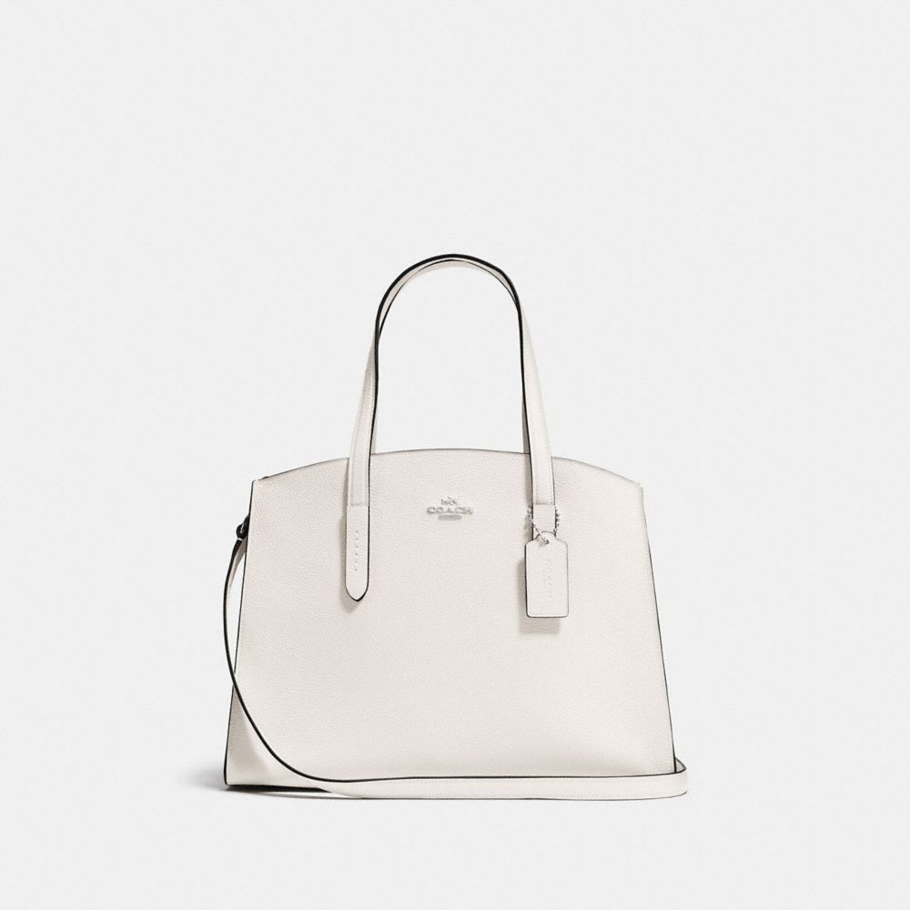 Charlie Carryall 28 Tote in White