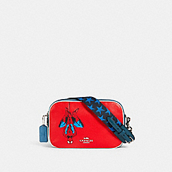 COACH 2544 Coach │ Marvel Jes Crossbody With Spider-man SV/MIAMI RED MULTI