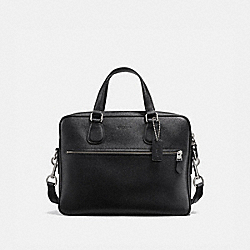 COACH 25514 - HUDSON 5 BAG BLACK/SILVER