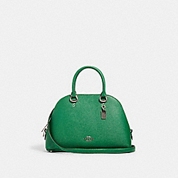 COACH 2553 - KATY SATCHEL SV/SHAMROCK