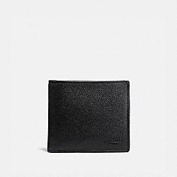 COACH 25604 Coin Wallet BLACK