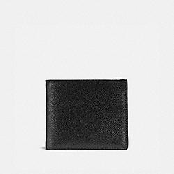 COACH 25605 - 3-IN-1 WALLET BLACK