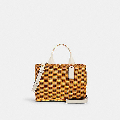 COACH 2560 WICKER CARRYALL IM/NATURAL