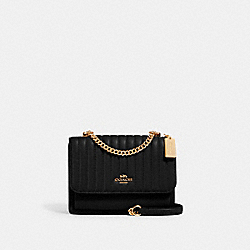 COACH 2561 - KLARE CROSSBODY WITH LINEAR QUILTING IM/BLACK