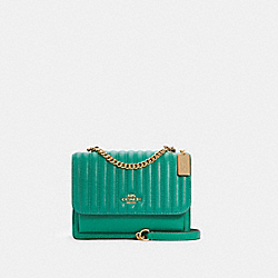 COACH 2561 - KLARE CROSSBODY WITH LINEAR QUILTING IM/GREEN