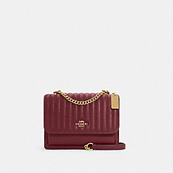 COACH 2561 - KLARE CROSSBODY WITH LINEAR QUILTING IM/VINTAGE MAUVE