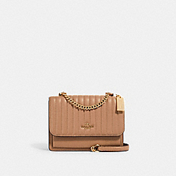 KLARE CROSSBODY WITH LINEAR QUILTING - 2561 - IM/TAUPE