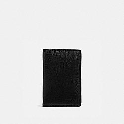 CARD WALLET - 25682 - BLACK