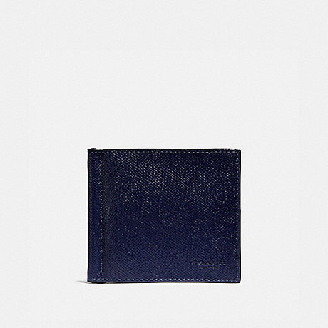 COACH 26016 MONEY CLIP BILLFOLD CADET