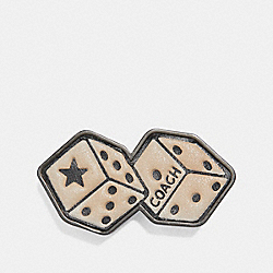 COACH 26019 Pin With Tattoo Dice MULTI
