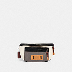COACH 2663 - TERRAIN BELT BAG IN COLORBLOCK QB/CHALK/HEATHER GREY/BURGUNDY