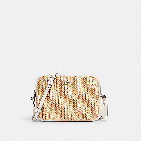 COACH 2667 MINI CAMERA BAG SV/CHALK