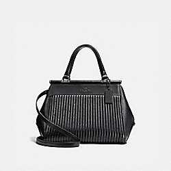 COACH 26833 Grace Bag With Quilting And Rivets DK/BLACK