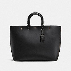 ROGUE TOTE WITH WHIPSTITCH HANDLE - 26885 - BP/BLACK